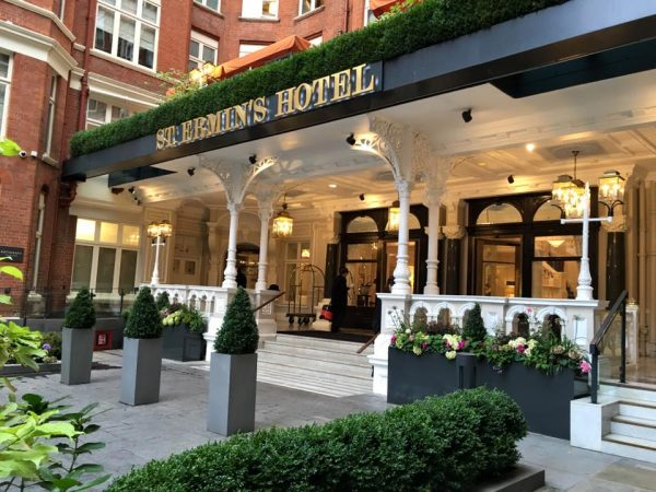 St. Erwin's Hotel, London, England.